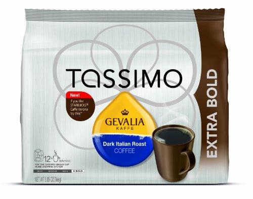 Gevalia Dark Italian Roast, 12-Count T-Discs