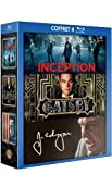 echange, troc Coffret Leonardo DiCaprio - Inception + Gatsby le magnifique + J. Edgar [Blu-ray]