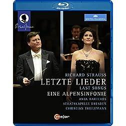 Strauss: Last Songs - An Alpine Symphony [Blu-ray]