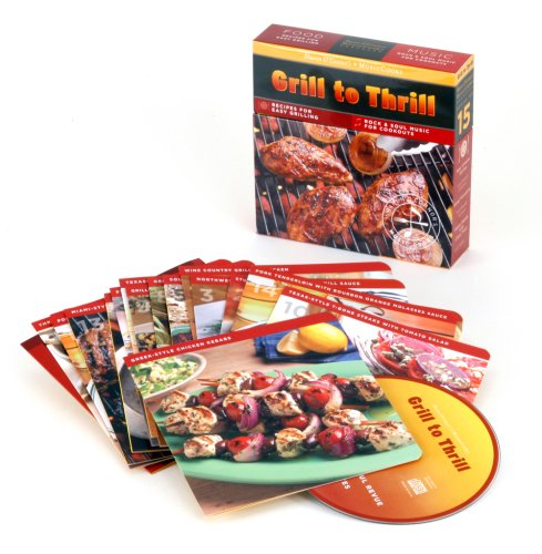 Grill to Thrill (MusicCooks: Recipe Cards/Music CD), Recipes for Easy Grilling, Rock & Soul Music for Cookouts (Sharon O'Connor's MusicCooks) PDF