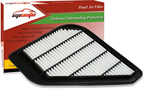 EPAuto GP110 (CA10110) Chevrolet / GMC / Saturn / Buick Rigid Panel Engine Air Filter for Enclave (2008-2017), Traverse (2009-2017), Acadia (2007-2016), Acadia Limited (2017), Outlook (2007-2010)