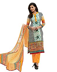 Indiweaves Women Cotton Dress Material (2781-Iw _Multi-Coloured)