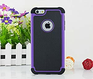 6 Plus Case, iPhone 6s Plus Case, iPhone 6 Plus Case, High Impact Resistant Hybrid Dual Layer Armor Defender Full Body Protective Case Cover for Apple iPhone 6s Plus Case / iPhone 6 Plus Case [ P ]