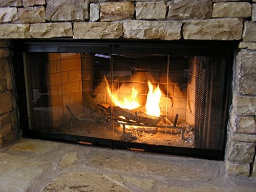 Heatilator Fireplace Doors - Black 42