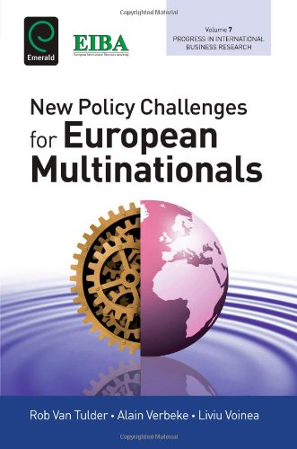 New Policy Challenges for European Mulitnationals (Progress in International Business Research)