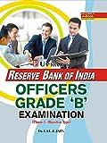 R.B.I. Officers Grade 'B' Exam.