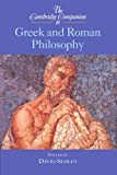 img - for The Cambridge Companion to Greek and Roman Philosophy (Cambridge Companions to Philosophy) book / textbook / text book