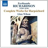 Richardson : Complete Works for Harpsichord