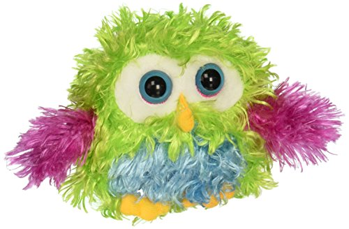 "Ganz 4.5"" Whoorah Hoots Plush Toy, Green"