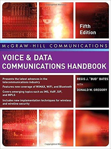 Voice & Data Communications Handbook, Fifth Edition...