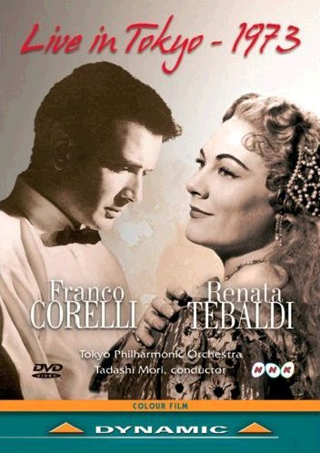 Franco Corelli Y Renata Tebaldi - Live In Tokyo - DVD