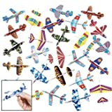 Toy / Game Super Funexpress Foam Glider Assortment (72) - Great Party Favors! - For Ages 5 Years And Up