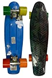 RETRO BOARDS Youth Weed Series Skateboards, Blue, 22