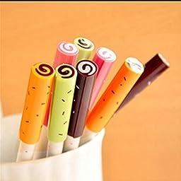 Katoot@ 4 pcs/lot kawaii sweet candy gel pen cute pens canetas material escolar stationery papelaria school office supplies
