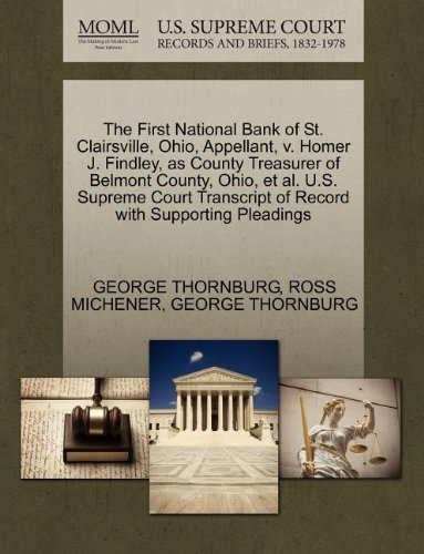 the-first-national-bank-of-st-clairsville-ohio-appellant-v-homer-j-findley-as-county-treasurer-of-be