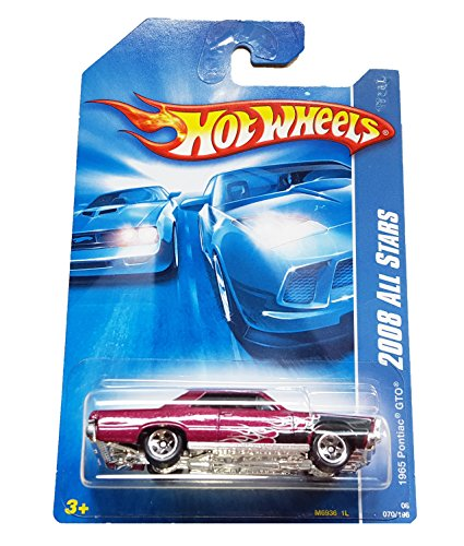 Hot Wheels 2008-070/196 1965 Pontiac GTO ALL Stars 1:64 Scale - 1