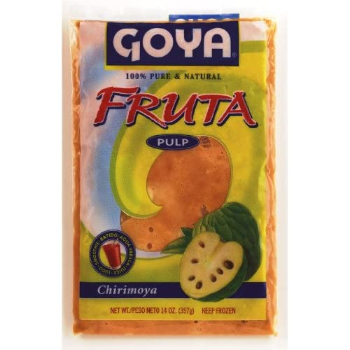 Amazon.com : Goya Foods Chirimoya Fruit Pulp, 14-Ounce : Juices