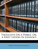 Gideon Algernon Mantell Thoughts On a Pebble, Or, a First Lesson in Geology