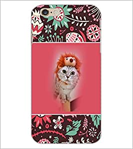 PrintDhaba Fantasy Girl D-5709 Back Case Cover for APPLE IPHONE 6 (Multi-Coloured)