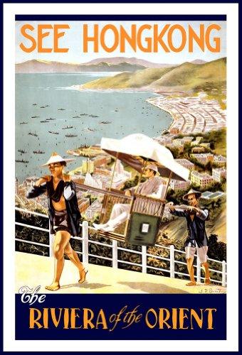 la-hong-kong-di-viaggio-vintage-riviera-of-the-orient-formato-a3-250-g-mq-riproduzione