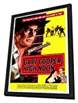 High Noon 27 x 40 Movie Poster - Style A - in Deluxe Wood Frame