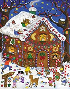 Vermont Christmas Company Gingerbread Fun Advent Calendar
