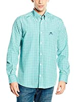 Polo Club Camisa Hombre Academy Trend (Verde)