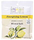 Aura Cacia Aromatherapy Mineral Bath, Energizing Lemon, 2.5 ounce packet (Pack of 3) by Aura Cacia