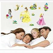 Gadfly- Barbie Princess Stick Nursery/baby Wall Sticker Decal