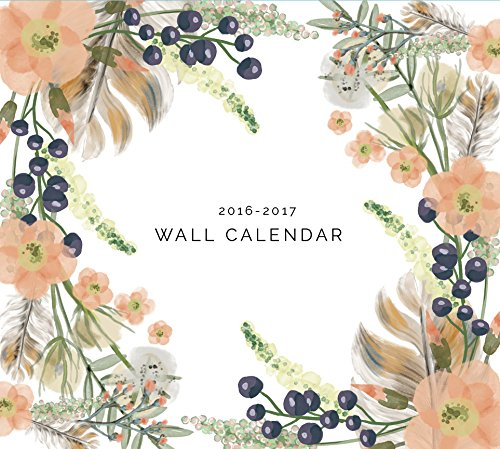 Well Planned Day Wall Calendar, July 2016 - June 2017