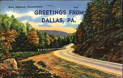 Dallas, Pennsylvania Postcard, 1961