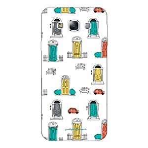 Designer Phone Covers - Samsung E5-doodle