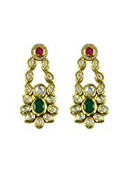 BGS Style Diva Gold Plated Metal Earring For Women - B00L2EJ9WS
