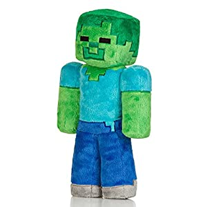 "Jinx Minecraft Overworld - Zombie Plush, 12"" from Jinx"