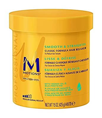 Motions Smooth & Straighten Hair Relaxer, Regular 15 ounce