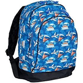 Wildkin Trains, Planes & Boats Backpack Kids Backpacks