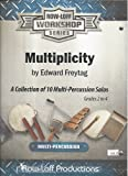 img - for Multiplicity A collection of 10 Multi percussion solos book / textbook / text book