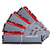 G.SKILL 16GB (4 x 4GB) TridentZ Series DDR4 PC4-30900 3866MHz For Intel Z170 Platform Desktop Memory Model F4-3866C18Q-16GTZ (Tamaño: 16 Gb)