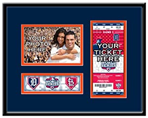 Detroit Tigers 2012 World Series Your 4X6 Photo Ticket Frame by That