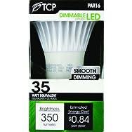 TCP PAR16 Dimmable LED Floodlight Light Bulb-7W PAR16 LED 30K BULB