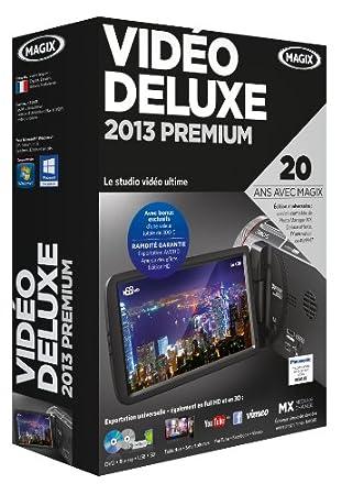 Magix vidéo deluxe premium 2013