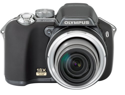Olympus SP-550UZ 7.1MP Digital Camera with Dual Image Stabilized 18x Optical Zoom