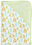 Peter Rabbit: Unisex Peter & Benjamin Print Reversible Blanket - Baby