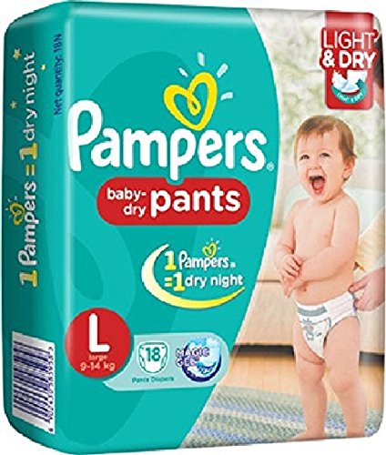 4016316270 Pampers Large Size Diaper Pants (52 Count) Price in India | Buy ...