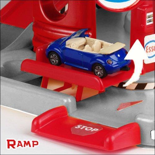 Faro 703 garage 3 livelli con pista e 2 auto incluse for Garage a 2 livelli