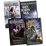 Patricia Briggs Ward of Hurog 4 Books Collection Pack Set RRP: �31.96 (Wolfsbane, When Demons Walk, Masques, Steal the Dragon)by Patricia Briggs