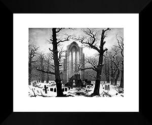 Monastery Graveyard The Snow Caspar