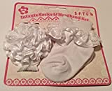 Baby Socks and Headband Set white