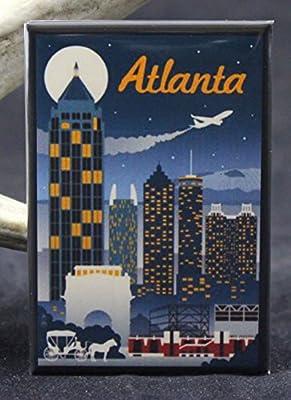 Atlanta Refrigerator Magnet.