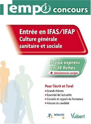 Entrée en IFAS